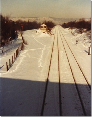 Heath Junction snow 1982