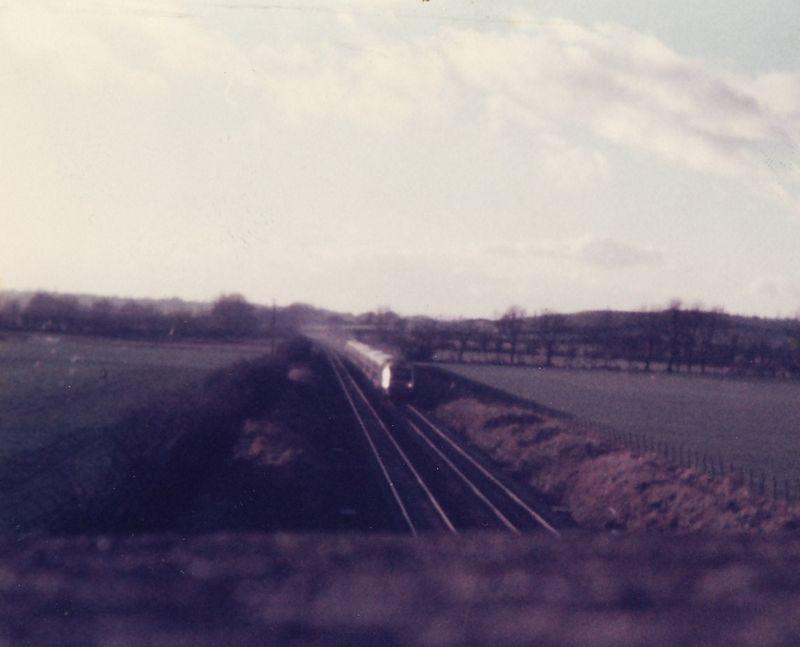 HST Wootton Bassett 1978