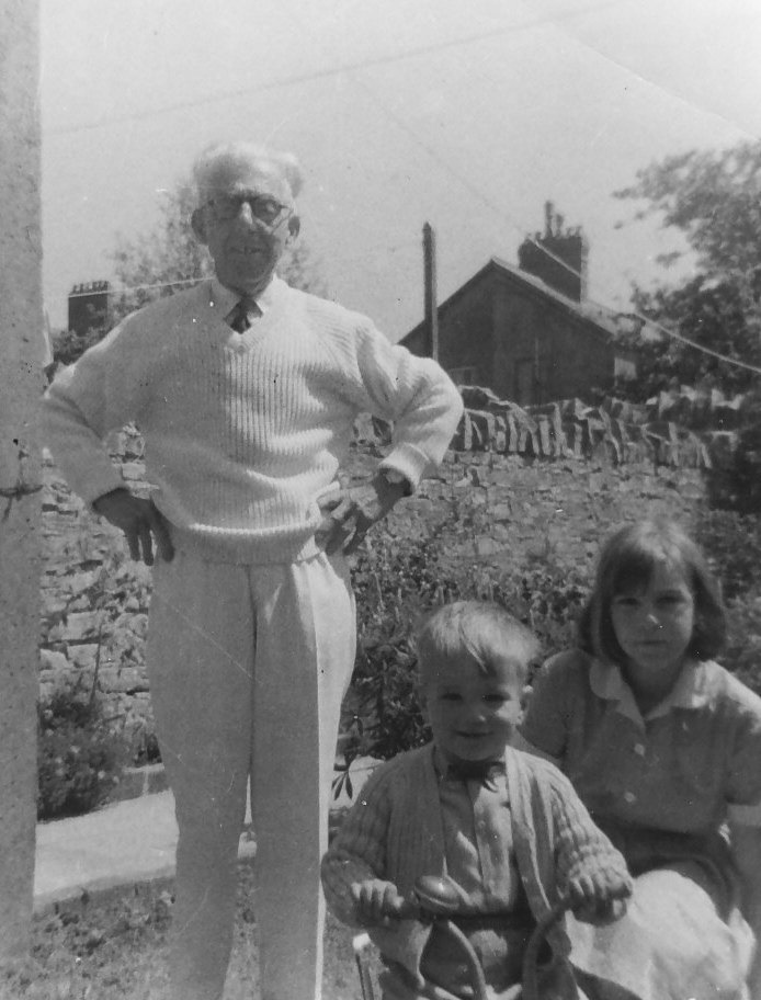 Robert, Beverley and Grampy