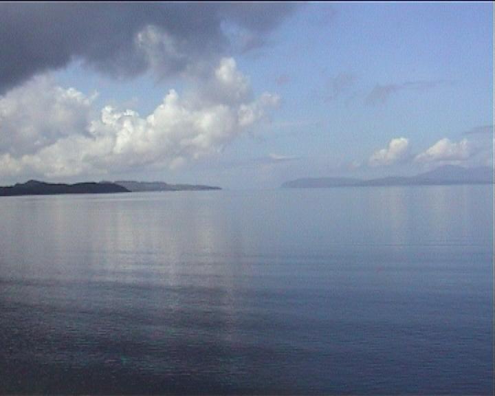 Scotland sea loch still