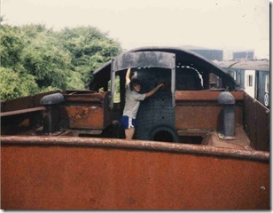 Rob on 6023 King Edward II 1983