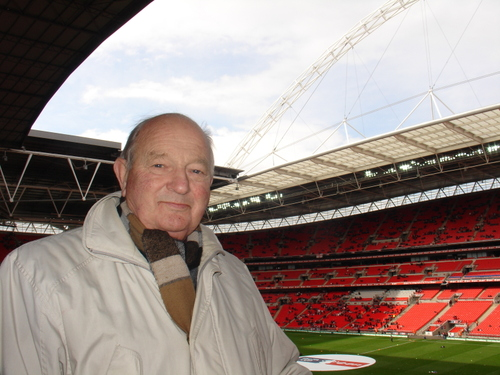 Bob Skinner at Wembley