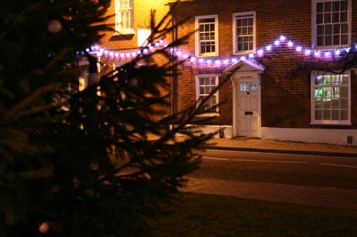 Chalfont St Giles Christmas lights 2007