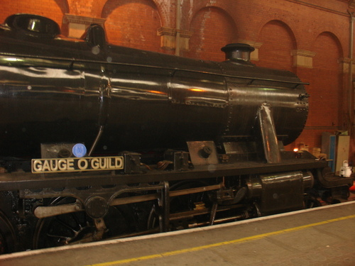 Steam at Marylebone: LMS 8F