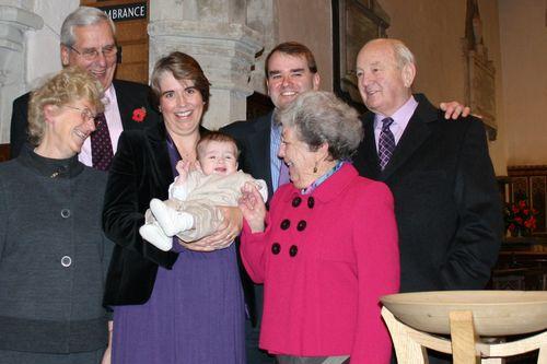 Owen's christening