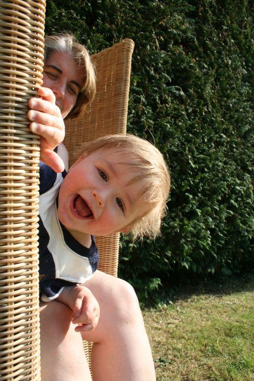 Owen on holiday