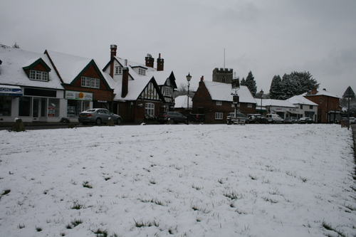 Snow at Chalfont St Giles